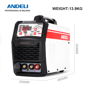 Image 3 - ANDELI Smart Portable Single Phase Multi function Welding Machine CT 520DPC 3 in 1 Welder with CUT/MMA/Pulse/TIG Welding machine