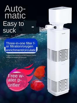 3 w 1 akwarium filtr do akwarium filtr do akwarium pompa powietrza tlen powietrza zwiększ filtr wewnętrzny do akwarium pompka do akwarium tanie i dobre opinie Siedzi 220-240 v AC220 RUBBER Aquarium Filter Filter For aquarium Air Oxygen Increase Aquarium Pump