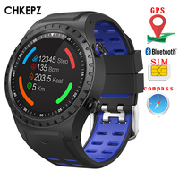 M1GPS smart watch android sports watch fitness tracker SIM card bluetooth call connected watch phone women smartwatches Men kids
