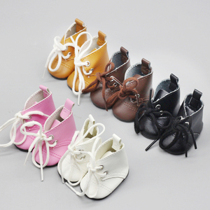 5cm Doll Boot For 1/4 BJD 14 Inches american Baby Doll EXO Fashion Mini Shoes with Socks High Quality Doll Accessories toys(China)