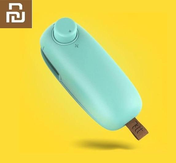 Xiaomi Mini Sealer Household Plastic Bag Sealer Portable Hand Pressure Heater Sealer Food Sealing Machine Sealing / Opening
