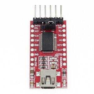 Image 4 - Адаптер FT232RL FT232 FTDI USB к TTL 5 в 3,3 В, кабель для скачивания в модуль последовательного адаптера для Arduino USB к 232