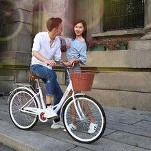 Bicicleta de carretera 24 pulgadas de viaje viajero Retro adulto ligero señora estudiante utilitario bicicleta 2019 nueva gran oferta