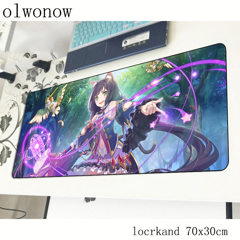 Princess Connect Re Dive mouse pad anime mats Computer mouse mat gaming accessories Kawaii mousepad keyboard games pc gamer(China)