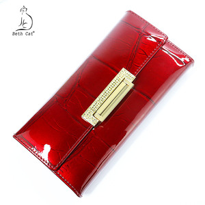 Image 2 - Womens Wallets  Brand Design High Quality Leather Wallet Luxury Stone Pattern Female Clutch Long Coin Card Holder Purses