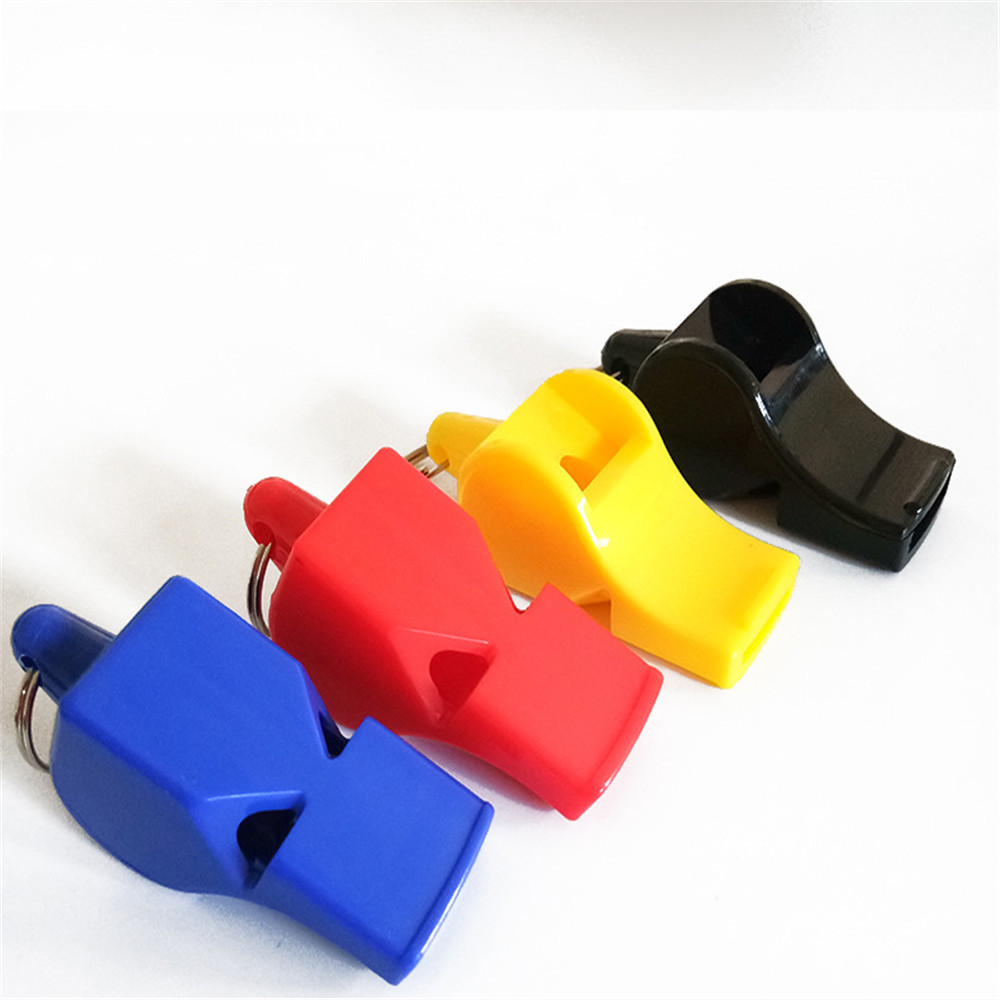 High Quality Sports Like Big Sound Whistle Seedless Plastic Whistle Professional Soccer Basketball Referee Whistle Outdoor Sport