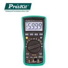 Proskit True RMS Digital Backlight LCD Display AntiBurning Multimeter Automatic range Frequency Resistor Transistor Tester meter цена