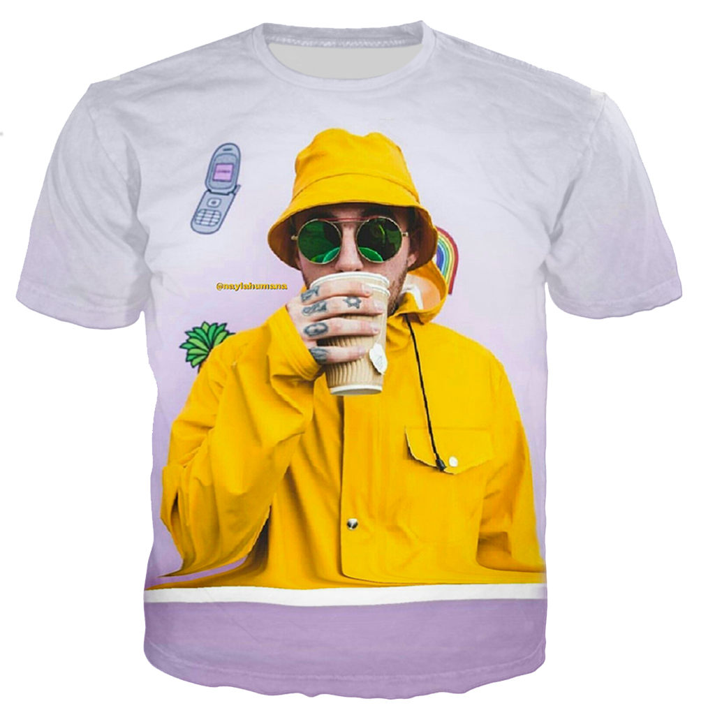 Mac Miller 3D Printed Casual T-shirts 1