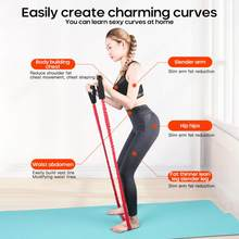 Fitness Resistance Bands Gym Apparatuur Elastische Bands Voor Yoga Pull Touw Fitness Workout Home Excerciser Training Dropshipping(China)