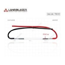 Código da lâmpada do laser do ipl do reino unido: f552, tamanho: 7*60 * 125f fio (2 peças pedido), lâmpada do flash do ipl feita no reino unido