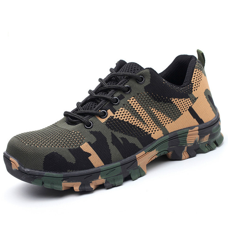 Special force Military Army Suit Accessories Man Shoes Soldier Tactical Combat Camouflage Shoes for Woman Wear Resistant 36-46 image