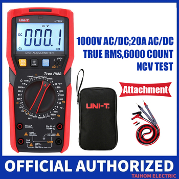UNI-T UT89XD Professional Digital Multimeter True RMS NCV 20A Current AC DC Voltmeter Capacitance Resistance Tester uni t ut89x ut89xd true rms digital multimeter true rms tester ac dc voltmeter ammeter 1000v 20a frequency led measure