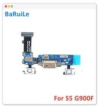 Baruile 5pcs 삼성 갤럭시 s5 g900f 충전기 충전 포트 독 커넥터 마이크로 usb 포트 플렉스 케이블