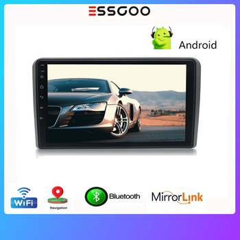 Essgoo Android 9.0 Autoradio 2 din Bluetooth For Audi A3 2008-2012 9'' Car Radio 2 din Multimedia Video Player GPS Navigation image