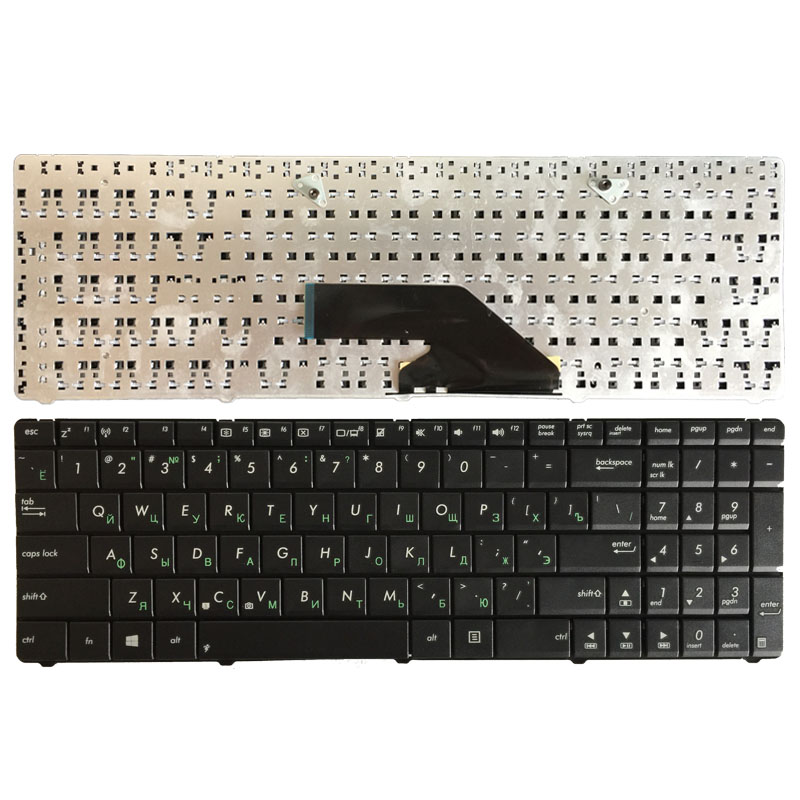 Russian Keyboard For ASUS K75 K75D K75DE K75A RU Laptop Keyboard