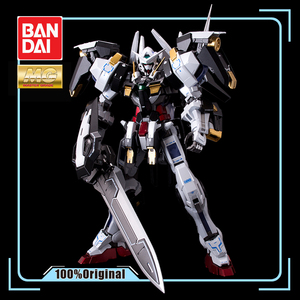 Image 1 - BANDAI MG 1/100 PB 00 GN 001/hs A01 Avalanche Exia GUNDAM Black and White Snow Color Action Figures Christmas Gift Toys