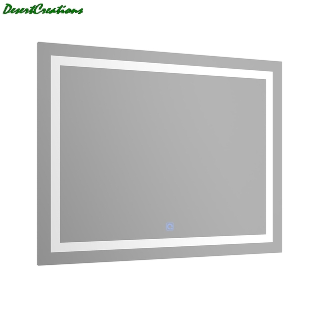 New LED Bath Mirrors Bathroom Vanity LED Lighted Mirror Wall Mounted Lighted Makeup Mirror For Home Bathroom 3