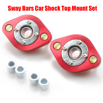2Pcs/set Racing Car Shock Top Mount Set for BMW E30 E36 E46 Z3 Pillow Ball Rear Upper Camber Plates image