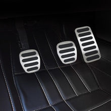 For  Volvo S40 V40 C40 C30 MT car pedal gas foot rest stainless modified pad non slip performance aluminium fuel цена