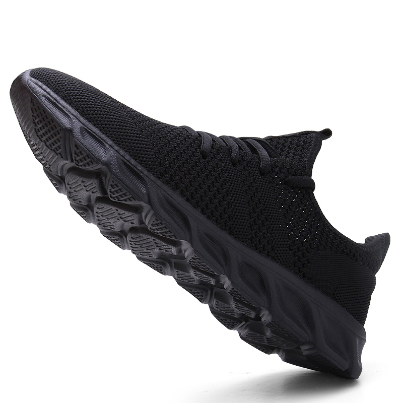 Hot Sale Light Running Shoes Comfortable Casual Men's Sneaker Breathable Non-slip Wear-resistant Outdoor Walking Men Sport Shoes 2
