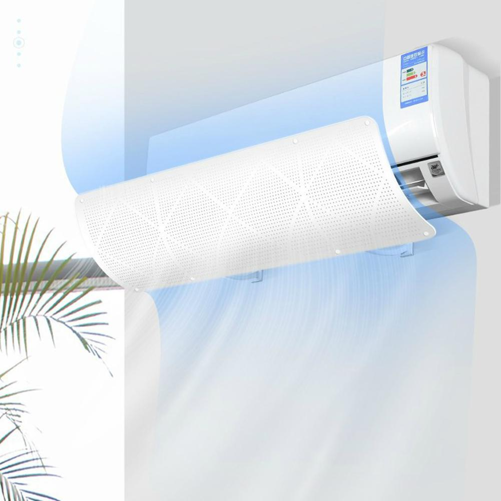 Universal Wind Deflector Protect Hollow Anti Direct Blow No Drilling Easy To Install Air Conditioner Cover Fan Accessories Beneficial To Essential Medulla