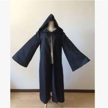 Плащ для взрослых и детей в средневековом стиле на Хэллоуин; Однотонный плащ с длинными расклешенными рукавами и капюшоном; маскарадный костюм для костюмированной вечеринки; Готическая накидка В рыцарском стиле