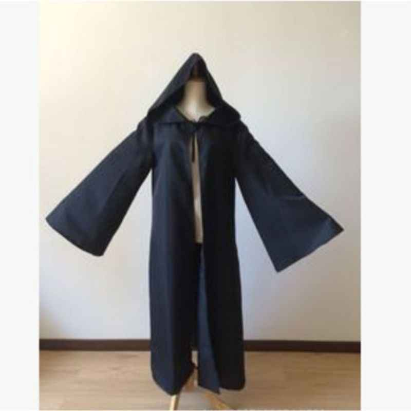 S-2XL Role playing Cloak Safety Adult Halloween Costume Cosplay Robe 6 Colors