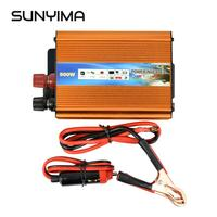 SUNYIMA 500W Inverter DC 12V to AC 220V Modified Sine Wave Automobile Power Inverter with USB Charger CE Certification