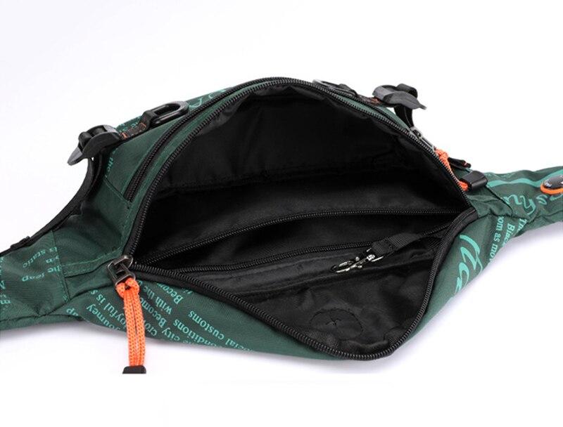 multifuncional pacote de peito viagem cinto saco