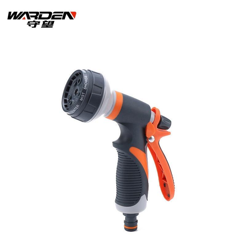 Garden Tools Spray Lawn Watering Multi-Function Car Wash High Pressure Durable Hand-Held Tools Hose Sprinkle Nozzle Garden