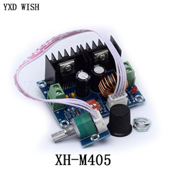 XH-M405 DC-DC módulo regulador de voltaje 200W XL4016 paso a Buck Placa de alta potencia 8A con potenciómetro externo DC4-40V