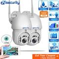 Cámara WiFi para exteriores de 1080P con seguimiento automático inteligente inalámbrico de seguridad para el hogar PTZ CCTV de Audio vigilancia de velocidad Domo IP Cámara iCSee