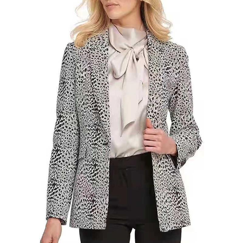 Hecc777548b8740278115dbaeebafe161U Fashion Trend Women Lapel Leopard Print Long Sleeves Suit Jacket Elegant Fall Winter Office Lady Cardigan Coat Casual Streetwear
