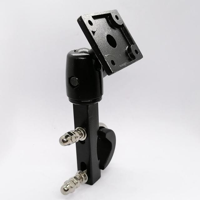 Heavy Duty Aluminium Motorrad Motorrad Lenker Halterung mit Standard AMPS Loch Muster für Garmin TomTom GPS Navigator etc