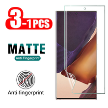 3 1Pcs 삼성 갤럭시 노트 용 매트 하이드로 겔 소프트 필름 8 9 10 20 플러스 울트라 5G 스크린 프로텍터 Note8 Note9 10Plus 20Ultra