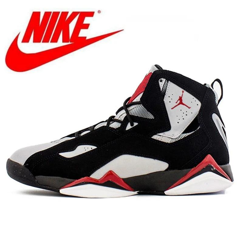 Nike Jordan Femme Nike Air Jordan 7 homme Jordan chaussures basket à lacets gymnastique entraînement bottes Sport Femme baskets antidérapantes
