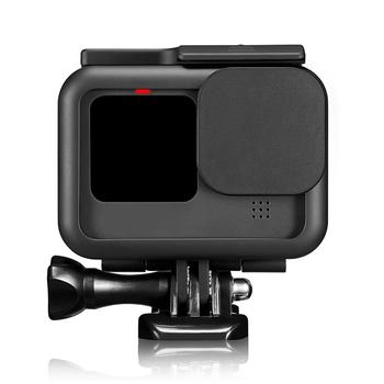 Plastikowa rama ochronna obudowa do montażu na podstawie obudowy z obiektywem do kamery Gopro Hero 9 akcesoria do kamer akcji tanie i dobre opinie XBERSTAR for Gopro Hero 9 Action Camera CN (pochodzenie) Przypadku Pakiet 1 Z tworzywa sztucznego Black Protective Frame