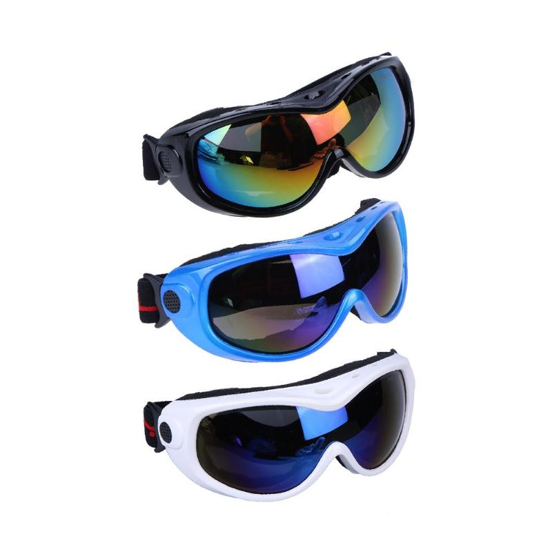High Quality Sand-proof Outdoor Sport Mountain Climbing Single Layer Ski Goggles Eye Protection Children Teenager Skiing Eyewear