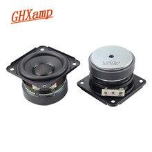 GHXAMP – haut-parleur à gamme complète, 2.75 pouces, 20 cœurs, 4ohm, 10W, haut-parleur latéral en caoutchouc, Ferrite, haute Performance, bricolage, 2 pièces
