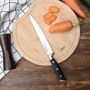 Image 4 - FISSMAN KOCH Series niemieckie stalowe noże kuchenne Chef Santoku nóż do krojenia