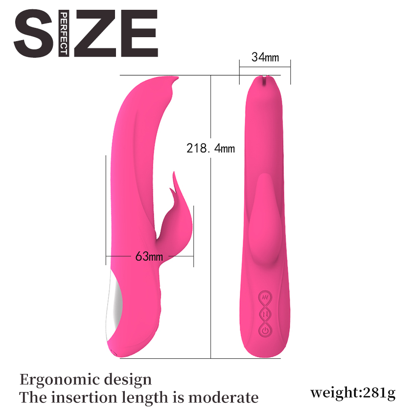 Mlsice Sex Toys for Women Orgasm Pulse Vibrador Sex Wand 18Thrusting Juguetes Sexuales Masturbators,Sex products Electromagnetic img3