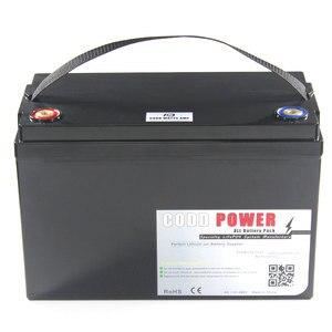24В 100ач LiFePO4 батарея 25,6 в водонепроницаемый IP68 коробка lifepo4 батарея для UPS солнечной энергии Гольф автомобиль
