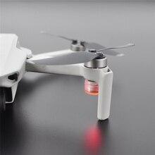2 pçs mini noite voando lâmpada de sinal led flash luzes navegação luz para dji mavic mini drone acessórios
