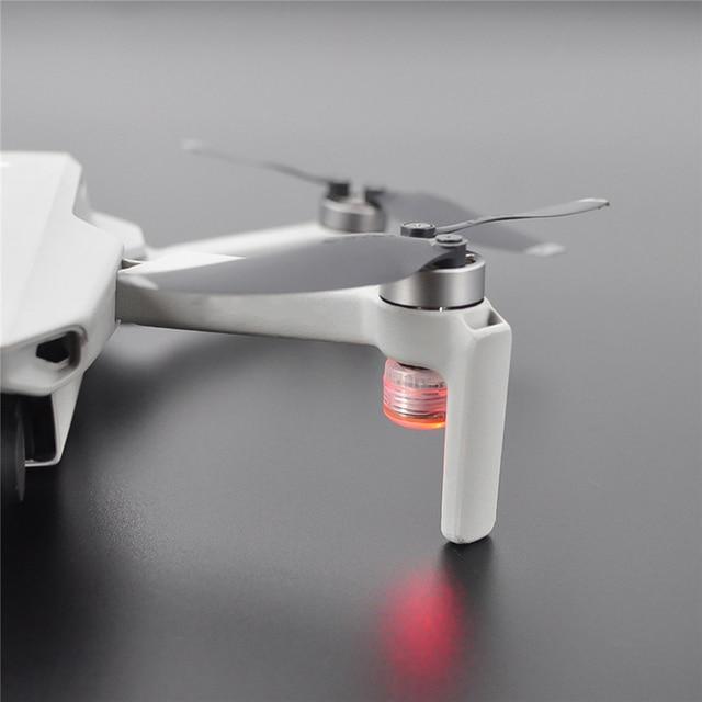 2pcs מיני טיסה הלילה אות מנורת LED פלאש אורות ניווט אור לdji Mavic מיני Drone אבזרים