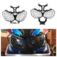 Motorcycle Grille Headlight Protector Guard Lense Cover For HONDA CRF1000L AFRICA TWIN 2016 2017 2018 CRF 1000L CRF 1000 L