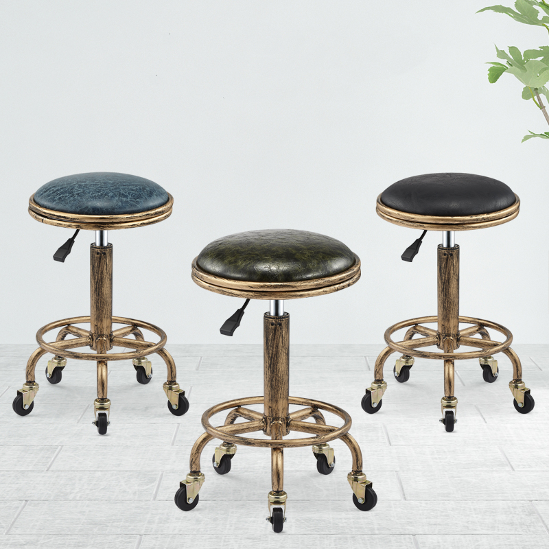 Hairdresser's Chair Hairdresser's Swivel Stool Hairdressing Salon Pulley Chair Haircut