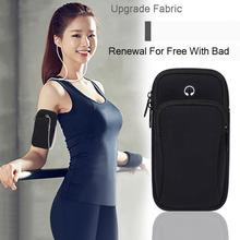 Sports Running Armband Bag Case Cover Running armband 6 Universal Waterproof Sport phone Holder Sport bag for iPhone Arm pouch rotatable running bag phone arm case waterproof armband sport wrist bag belt key holder pouch for samsung iphone 8 x 4 6 inch