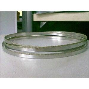 Image 2 - 37 59*1/8 inç paslanmaz çelik Bimetal testere bıçağı dikişsiz dairesel elmas şerit testere kesme bıçağı grafit cam taş