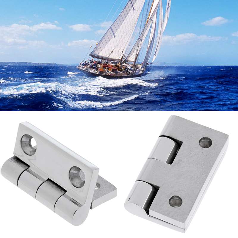 Boat Hinge Deck Cabinet Drawer Flush Door Strap Marine Hinge Butt Hinge Hardware For Caravan RV Yacht Boat Accessories Marine