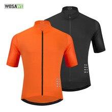 WOSAWE-Camiseta de malla para ciclismo para hombre, Maillot para bicicleta de montaña, transpirable, para descenso, Pro Team